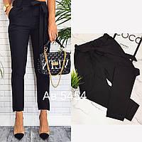 Женские брюки женские с пояском, фото 1