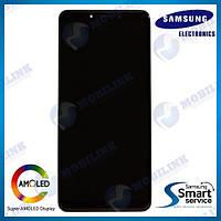 Дисплей на Samsung A920 Galaxy A9(2018) Чёрный(Black),GH82-18308A, Super AMOLED!