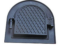 Дверка топочная арочная FESGUSS DS-01Т (340 х 340 мм.)