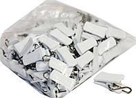 Зажимы для штор (100шт) с стальным крючком, фото 1