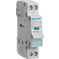 Выключатель нагрузки Hager 2-полюсный, 25 А, SBN225