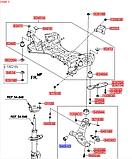 Сайлентблок перелнего рычага передний киа Соренто 2, KIA Sorento 2009-14 XM, 545513r000, фото 4