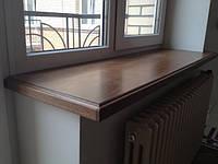 Подоконник деревянный из Лиственницы 40мм, ширина 280мм, фото 1