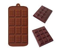 """Силиконовая форма """"Шоколадная плитка мини"""""""