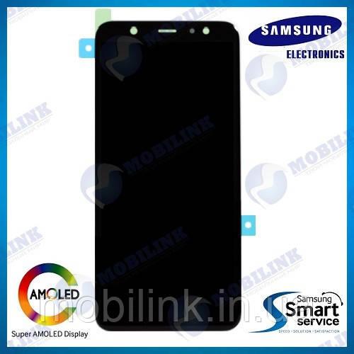 Дисплей на Samsung A605 Galaxy A6+/Plus Чёрный(Black),GH97-21878A, Super AMOLED!