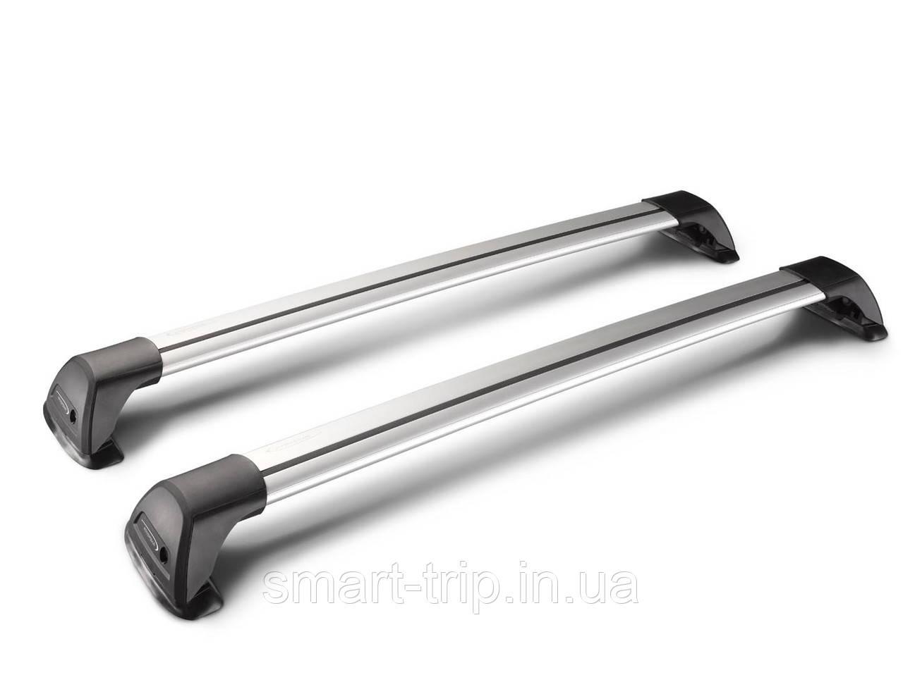 Багажник для авто c гладкой крышей Yakima Whispbar FlushBar S37 (105/115 см) silver