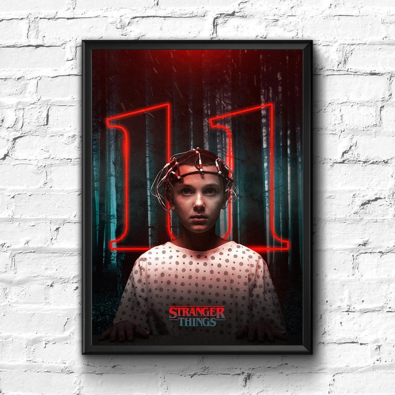 Постер с рамкой Stranger Things #1
