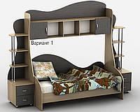 Детская комната Д-2Р. Разные размеры и раскраски. Можно покупать отдельные комплектующие.