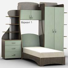 Детская комната Д-4Р. Разные размеры и раскраски. Можно покупать отдельные комплектующие.