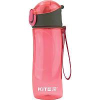Бутылка для воды Kite K18-400-02, 530 мл, розовая