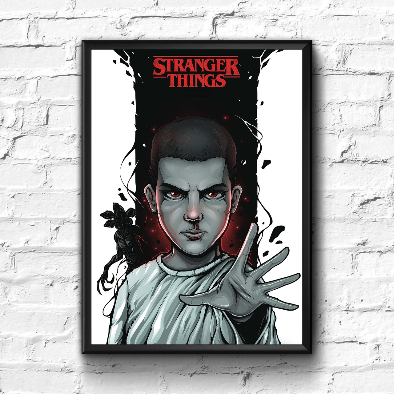Постер с рамкой Stranger Things #5