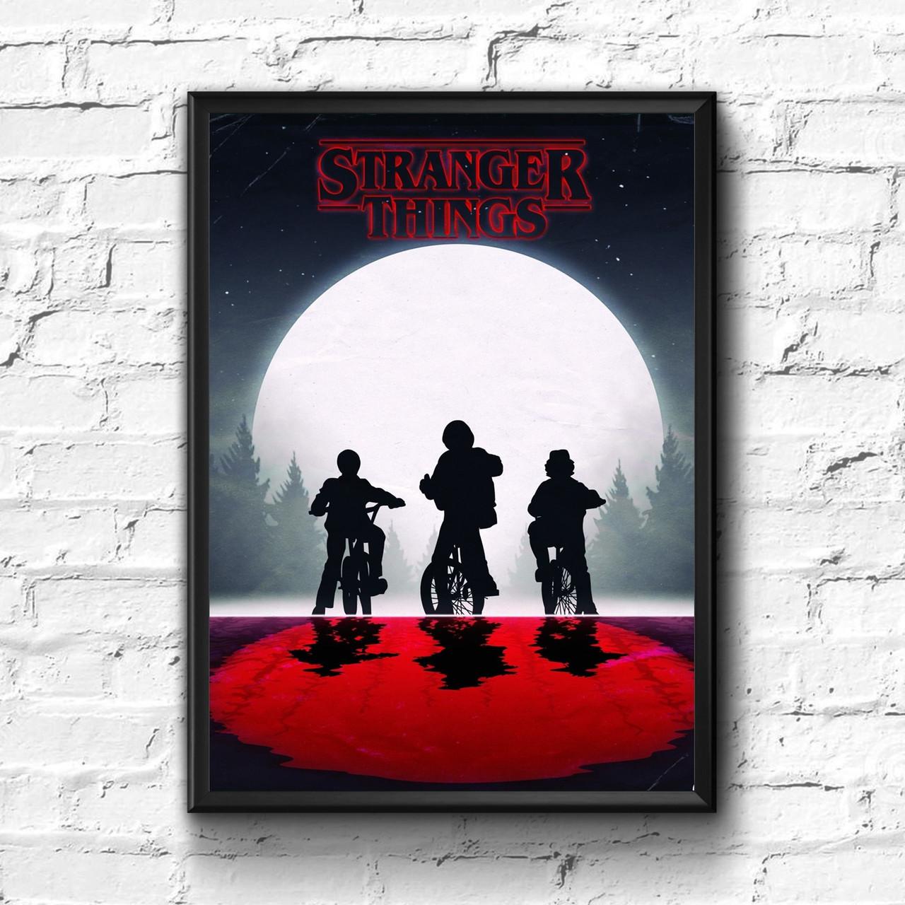 Постер с рамкой Stranger Things #6