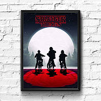 Постер с рамкой Stranger Things #6
