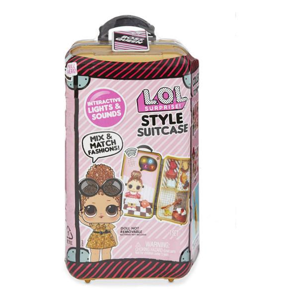L.O.L. Surprise! Интерактивная школа стилиста чемодан Леди-Босс 560418 Boss Queen Style Suitcase Interactive