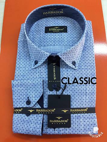 Рубашка длинный рукав Barbados лён - classic, фото 2