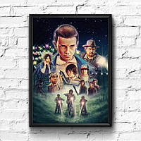 Постер с рамкой Stranger Things #8
