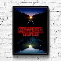 Постер с рамкой Stranger Things #13