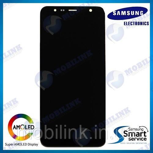 Дисплей на Samsung J415/J610 Galaxy J4+/J6+(2018) Чёрный(Black),GH97-22582A,оригинал