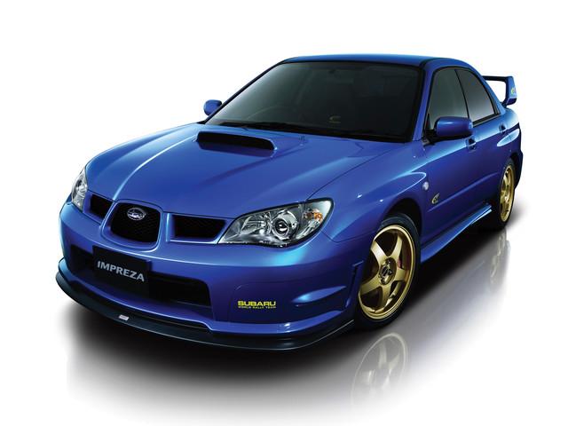 Subaru Impreza (GDB) (2001-2008)