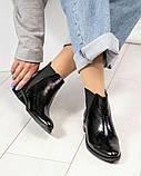Стильные кожаные женские ботинки Челси, фото 3