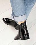 Стильные кожаные женские ботинки Челси, фото 4