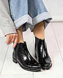 Стильные кожаные женские ботинки Челси, фото 6