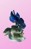 Фарфоровые фигурки: рыбы на водорослях (фф-34)