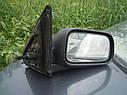 Зеркало заднего вида правое Nissan Primera P11 1996-2001г.в. седан хетчбек механическое черное, фото 3