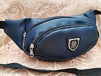 Мужская сумка на пояс PP-no-188-32 мини бананка через плечо модная Копия кожзам