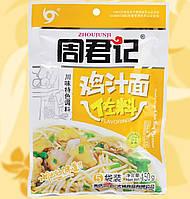 Соус грибний, гострий, для локшини, Noodle Sauce Chiken Flavour, Zhoujunji, 150 г, Китай, NV