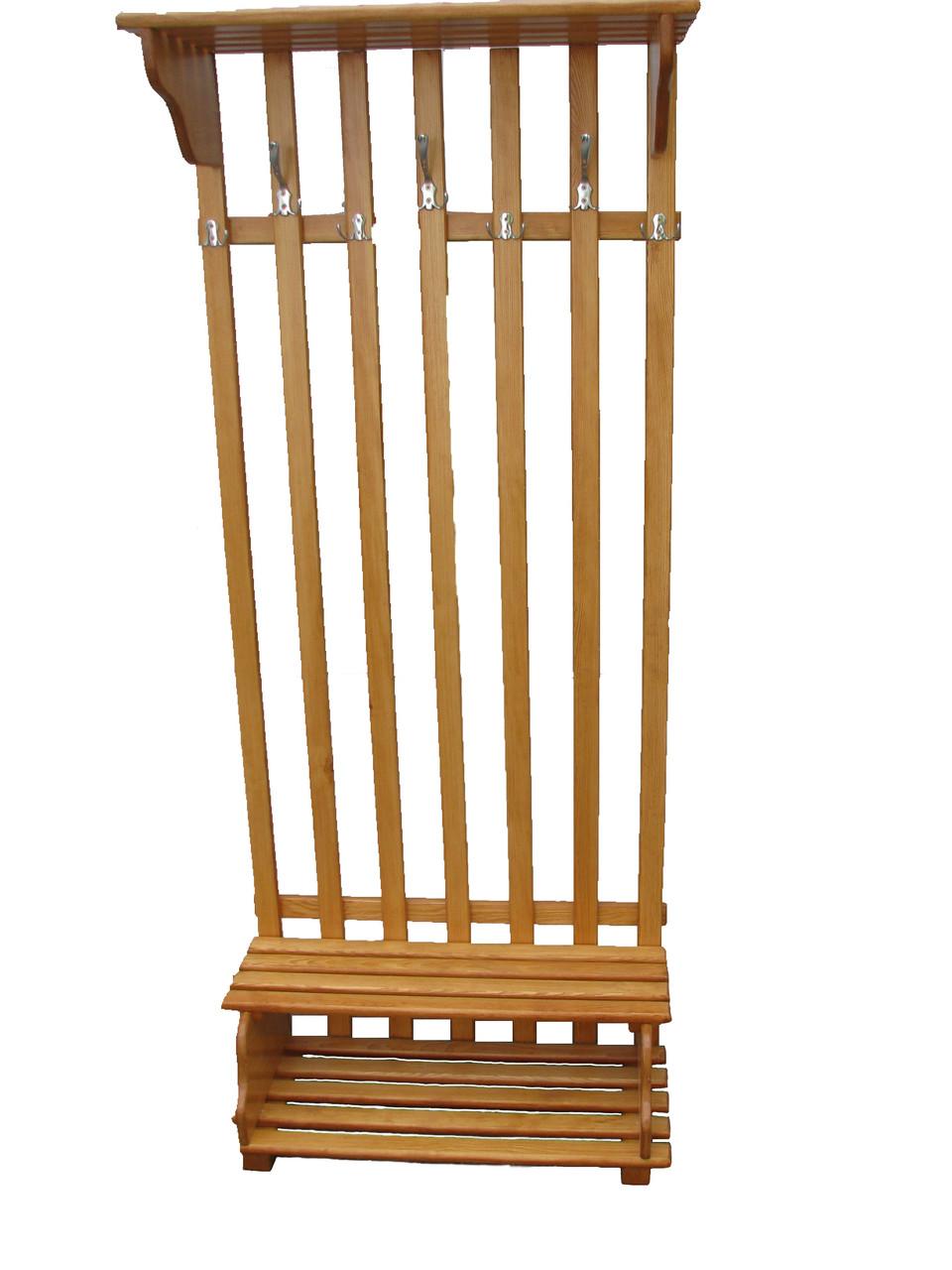 Вешалка напольная деревянная от производителя