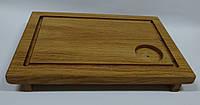 Доска для подачи стейка, 35 * 24 см.