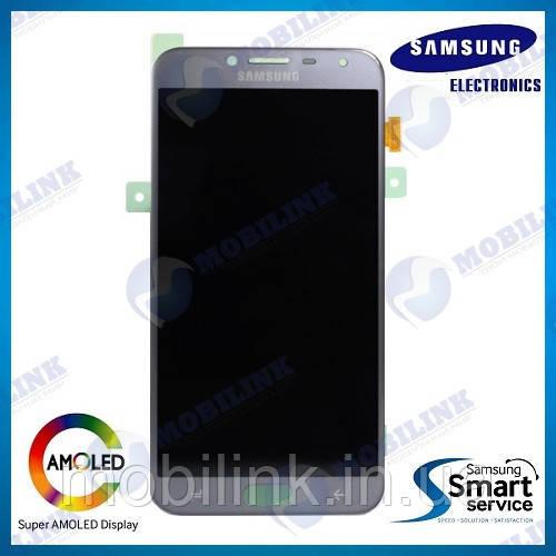 Дисплей на Samsung J400 Galaxy J4(2018) Серый(Silver),GH97-21915C, Super AMOLED!