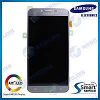 Дисплей на Samsung J400 Galaxy J4(2018) Серый(Silver),GH97-21915C, Super AMOLED!, фото 1