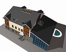 Гостиничный комплекс (загородная зона, люкс)