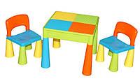 Tega Baby Mammut Стіл+2 стільчики Комплект дитячих  меблів Multicolor