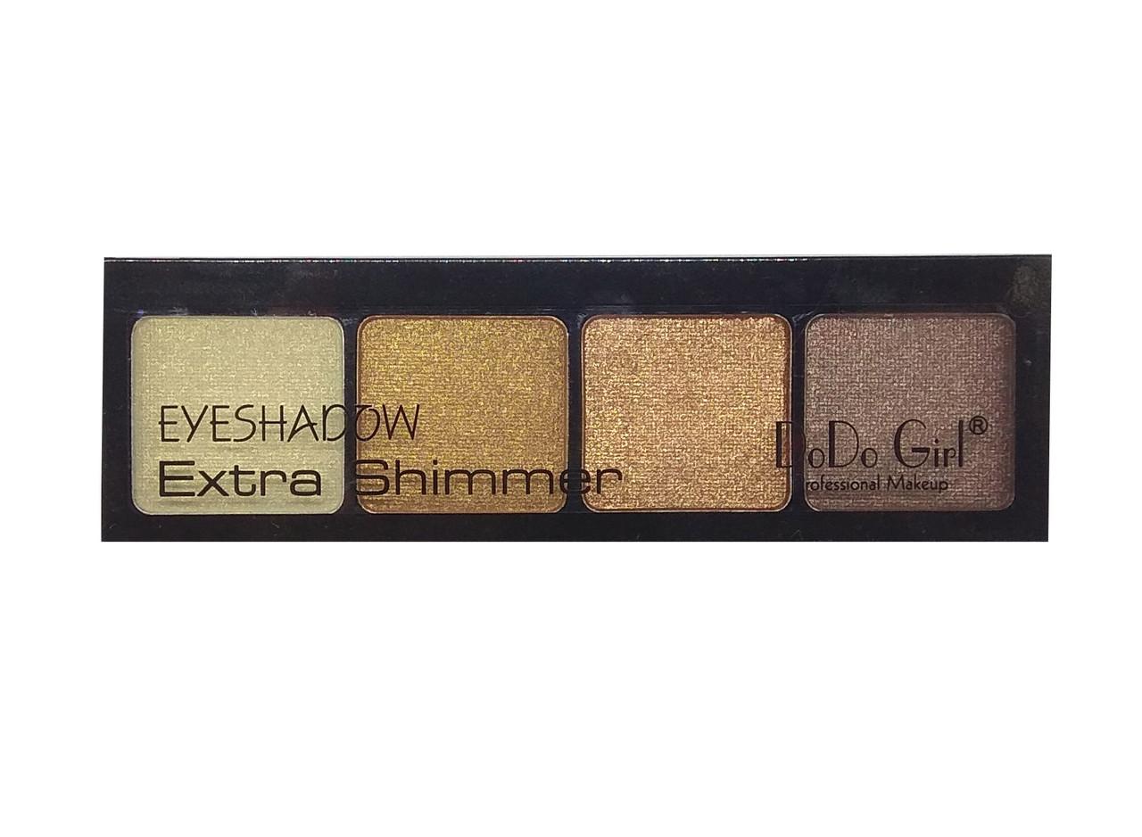 Тени для век  DoDo Girl Extra Shimmer 04