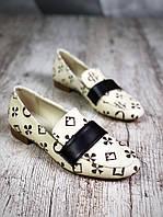 Кожаные туфли лоферы 38,39 р, фото 1