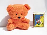 Игрушки в букеты. Оранжевые мишки (9,5х8см)