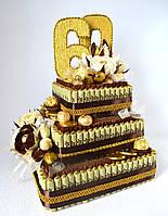 """Торт з цукерок """"Ювілей"""", фото 1"""