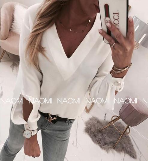 Блуза женская белая 3 расцветки