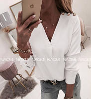 Блуза женская белая 2 расцветки