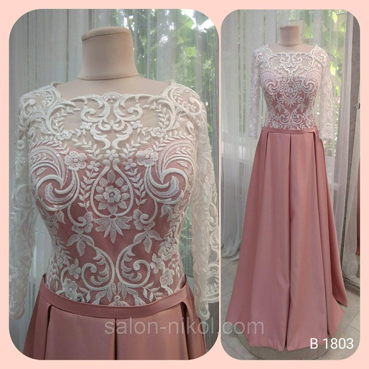 Вечернее, выпускное платье B-1803 52-54 р.