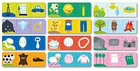 Пазл-трансформация для малышей  «Что из чего сделано» 36 элементов Apli kids