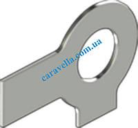DIN 463, шайба стопорная с двумя лапками из нержавейки