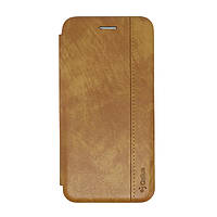 Чехол книжка для Xiaomi Redmi 6a Leather Gelius Gold