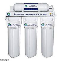 Система 4-х ступенчатой очистки Bio+ systems SL404-NEW (очистка + умягчение)