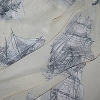 Тюль под натуральную матовая яхта
