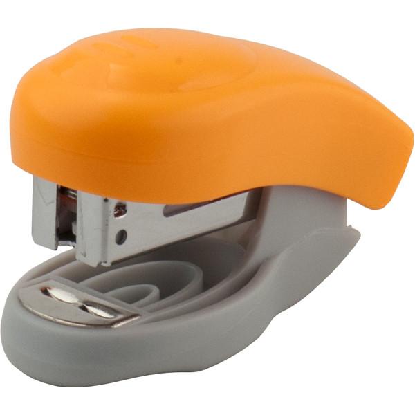 Степлер Welle-2 пласт., №24/6, 10 арк., помаранчевий