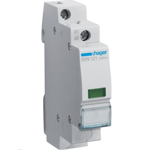 Индикатор LED зеленый, Hager SVN121